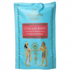 Фараоновы ванны Соль для ванн с комплексом эфирных масел Антицеллюлитная 500г ФАРАОНОВЫ ВАННЫ