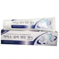 La Miso Зубная паста с частицами серебра 150г