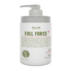 Оллин/Ollin Professional FULL FORCE Маска для волос и кожи головы с экстрактом бамбука 650мл
