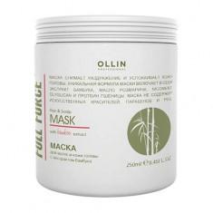 Оллин/Ollin Professional FULL FORCE Маска для волос и кожи головы с экстрактом бамбука 250мл