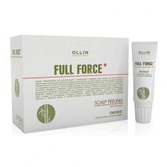 Оллин/Ollin Professional FULL FORCE Пилинг для кожи головы с экстрактом бамбука 10штх15мл