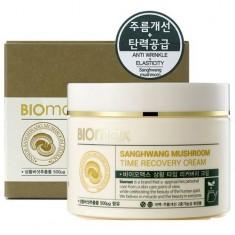BIOmax Антивозрастной крем с экстрактом гриба санхван 100мл