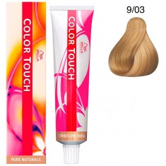 Wella Color Touch Тонирующая крем-краска без аммиака 9/03 лен 60мл