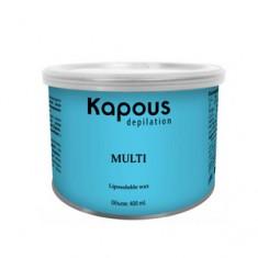 Жирорастворимый воск с оксидом цинка в банке, 400 мл (Kapous Professional)