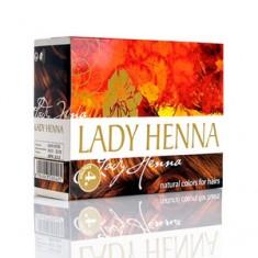 Краска для волос на основе хны, каштановый, 6 шт.*10 г (Lady Henna)