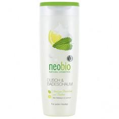 Пена с био-мелиссой и лимоном для душа и ванны, 250 мл (NeoBio)