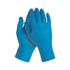 Перчатки нитриловые, фиолетовые, 200 шт., XL (Чистовье) ЧИСТОВЬЕ