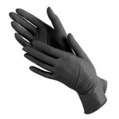 Перчатки нитриловые, черные, 100 шт., M (Чистовье) ЧИСТОВЬЕ