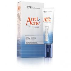 Крем-актив для жирной и проблемной кожи лица, склонной к акне, 15 мл (RealCosmetics)