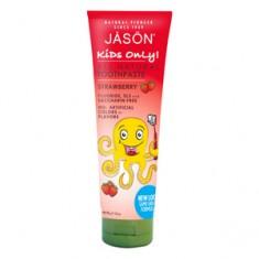 Детская зубная паста клубничная, 119 г (Jason)