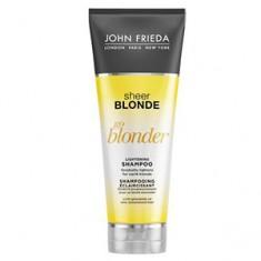 Шампунь осветляющий для натуральных, мелированных и окрашенных волос Sheer Blonde Go Blonder, 250 мл (John Frieda)