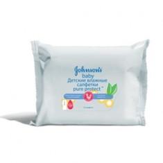 JOHNSON'S BABY Детские влажные салфетки Pure Protect 25 шт.
