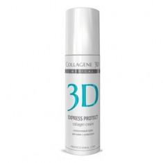 Коллаген 3Д EXPRESS PROTECT Крем для лица с софорой японской Collagene 3D