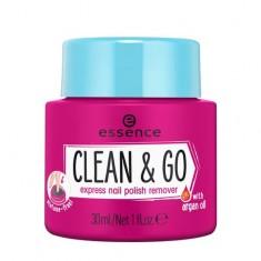 Средство для снятия лака ESSENCE CLEAN & GO