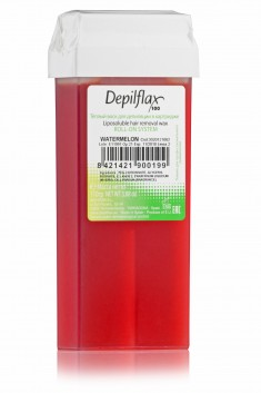 DEPILFLAX 100 Воск для депиляции в картридже, арбуз 110 г