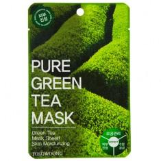 Маска для лица TOSOWOONG с экстрактом зеленого чая 23 г