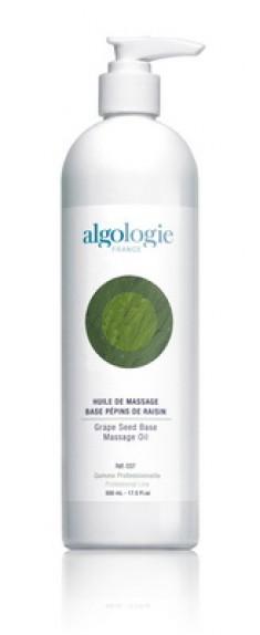 ALGOLOGIE Масло массажное на основе виноградных косточек 500 мл