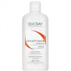 Ducray Anaphase+ Stimulating Cream Shampoo - Шампунь укрепляющий для ухода за волосами, 400 мл