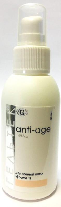 ГЕЛЬТЕК Гель косметический гидратирующий для зрелой кожи, форма 1 / Anti-Age 100 г