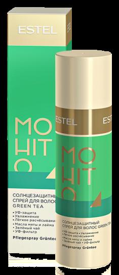 ESTEL PROFESSIONAL Спрей солнцезащитный для волос Зеленый чай / MOHITO 100 мл