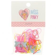 Набор MISS PINKY резинка 50 шт, краб 6 шт