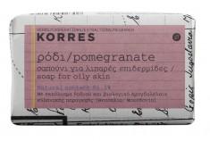 KORRES Мыло для жирной кожи, гранат 125 г