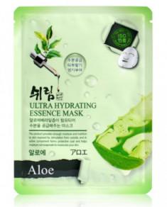 Маска тканевая с экстрактом алоэ Shelim Ultra Hydrating Essence Mask Aloe 25мл