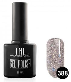 TNL PROFESSIONAL 388 гель-лак для ногтей, гейнсборо с голографическим шиммером 10 мл