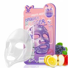 Маска тканевая с фруктами ELIZAVECCA Fruits deep power ringer mask pack 23 мл.