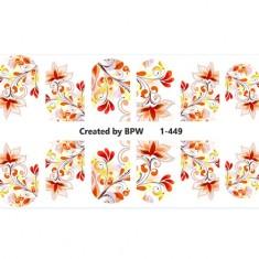 BPW.Style, Слайдер-дизайн «Осенний узор» №1-449