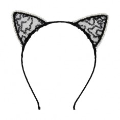 Ободок-уши LADY PINK ears