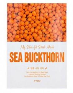 Тканевая маска c экстрактом облепихи A'PIEU My Skin-Fit Sheet Mask Sea Buckthorn