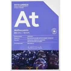 Маска для лица Phytochemical Skin Supplement Sheet Mask Anthocyanin Lifting Missha