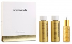 MIRIAM QUEVEDO Набор-люкс для интенсивного питания и восстановления волос / Sublime Gold Global Rejuvenation Set 2*100 мл + 50 мл