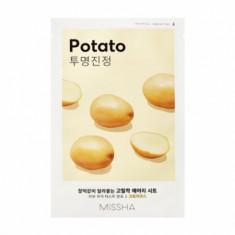 Маска тканевая увлажняющая с картофелем MISSHA Airy Fit Sheet Mask Potato