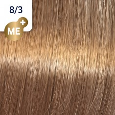 WELLA PROFESSIONALS 8/3 краска для волос, крем-карамель / Koleston Perfect ME+ 60 мл