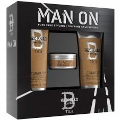 TIGI Набор мужской для волос (шампунь 250 мл, кондиционер 200 мл, воск 85 г) BED HEAD FOR MEN DANDY