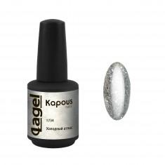 KAPOUS Гель-лак для ногтей, холодный атлас / Lagel 15 мл