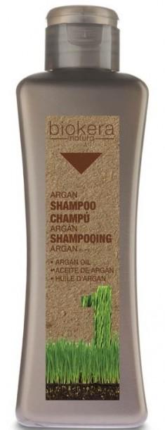 SALERM COSMETICS Шампунь с аргановым маслом для волос / BIOKERA Argan 300 мл