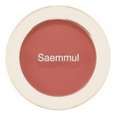 Румяна THE SAEM Saemmul Single Blusher RD03 Trench Rose 5гр