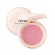 Румяна стойкие матовые THE SAEM Saemmul Smile Bebe Blusher 01 Rose Pink(N) 6гр