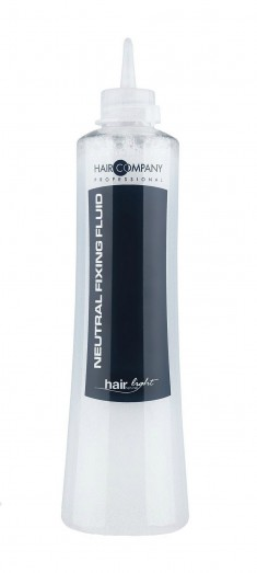 HAIR COMPANY Фиксатор-нейтрализатор, жидкость для химической завивки волос / Hair Light Neutral Fixing Fluid 500 мл
