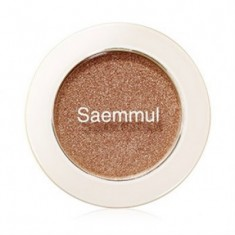 Тени для век мерцающие THE SAEM Saemmul Single Shadow (Shimmer) BR05 2гр