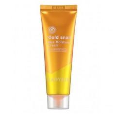 интенсивно увлажняющий крем для лица с фильтратом слизи улитки ladykin gold snail max moisture cream