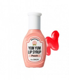 Тинт для губ увлажняющий THE SAEM Saemmul Yum Yum Lip Syrup 04 Peach 10гр