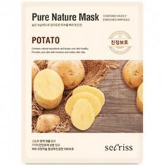 Маска для лица тканевая Anskin Secriss Pure Nature Mask Pack-Potato 25мл