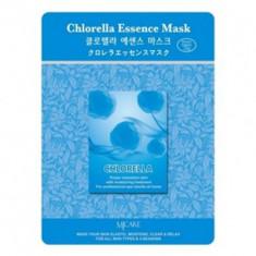 Маска тканевая хлорелла Mijin Chlorella Essence Mask 23гр