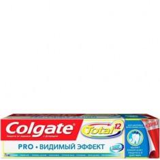 Зубная паста Total 12 Pro Видимый эффект COLGATE