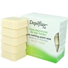 Depilflax воск горячий в дисках слоновая кость 0,5кг