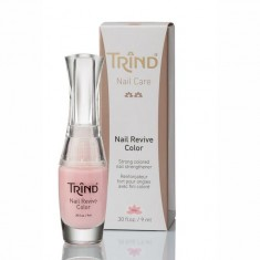 Trind укрепитель ногтей цветной перламутровый 9мл (розовый
